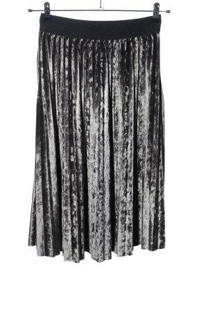 Vila Pleated Skirt light grey casual look