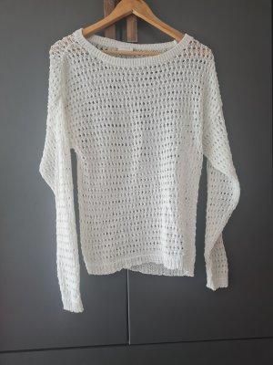 Vila Pullover a maglia grossa bianco