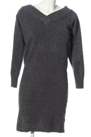 Vila Abito maglione grigio chiaro puntinato stile casual