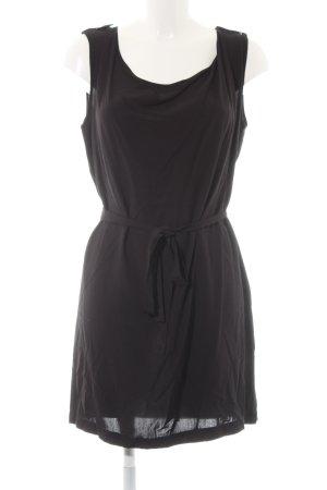 Vila Sukienka o kroju koszulki czarny W stylu casual