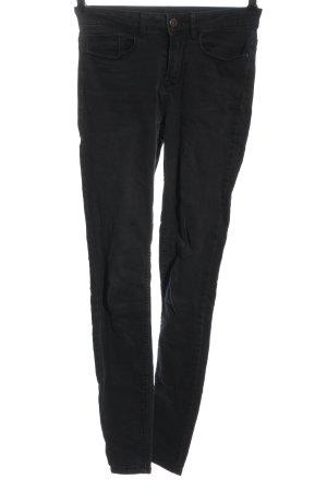 Vila Skinny Jeans black casual look