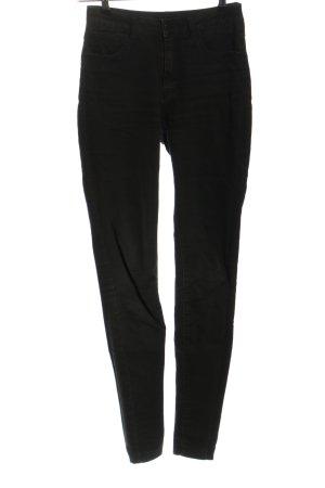 Vila Skinny Jeans schwarz Casual-Look