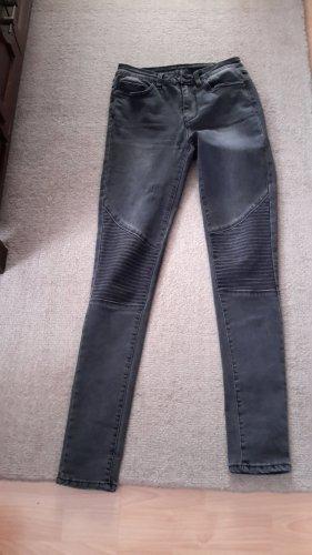 Vila Skinny Jeans black-anthracite