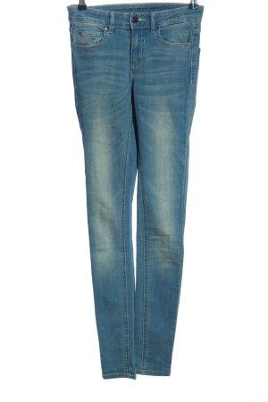 Vila Skinny Jeans blau Casual-Look