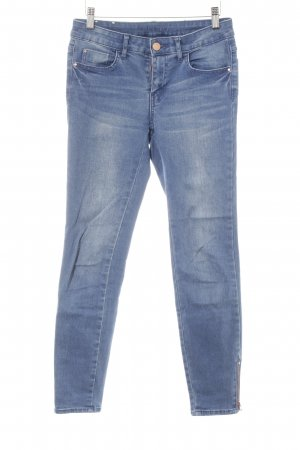 Vila Skinny Jeans stahlblau Casual-Look