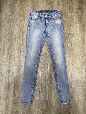 Vila Skinny Jeans Vicomitt Denim Röhre Stone Washed greyblue Gr. XS Np 50€