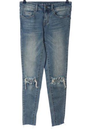 Vila Slim Jeans blau Casual-Look