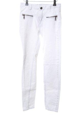 Vila Slim Jeans weiß Casual-Look