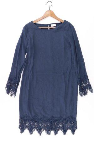 Vila Spitzenkleid Größe XS Langarm blau aus Polyester