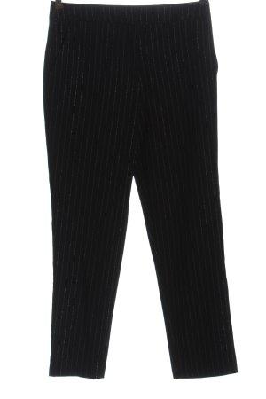 Vila Jersey Pants black-silver-colored flecked casual look