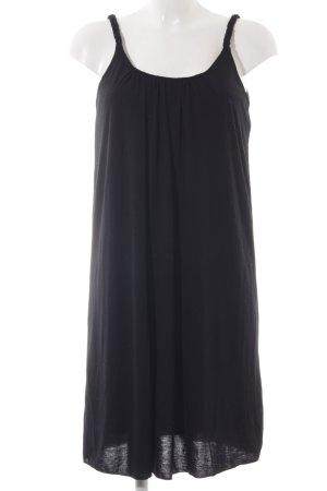 Vila Stretchkleid schwarz schlichter Stil