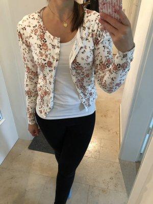Vila Veste chemise blanc-or rose