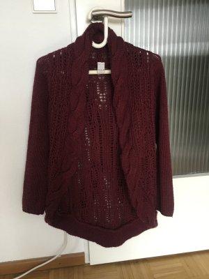 Vila Coarse Knitted Jacket multicolored