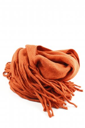Vila Knitted Scarf light orange casual look