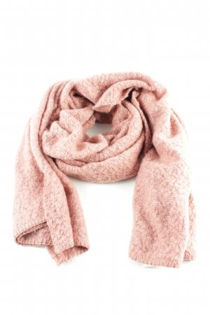 Vila Knitted Scarf pink flecked casual look