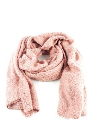 Vila Strickschal pink meliert Casual-Look
