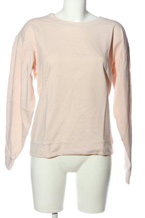 Vila Sweatshirt creme-schwarz Casual-Look