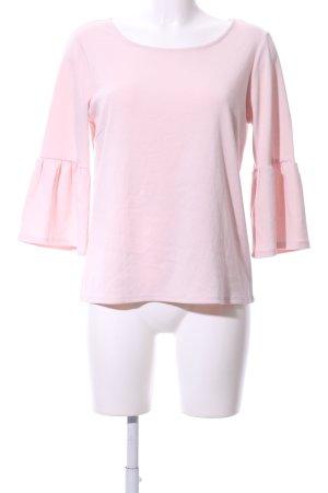 Vila Sweatshirt pink Business-Look