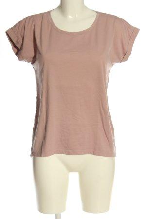 Vila T-Shirt nude casual look