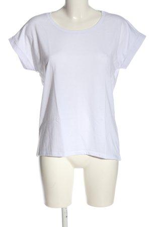 Vila T-Shirt weiß Casual-Look
