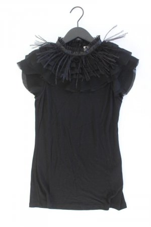 Vila T-Shirt Größe XS Kurzarm schwarz