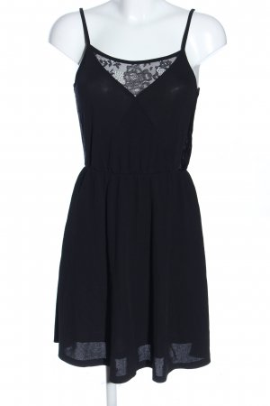 Vila Trägerkleid schwarz Elegant