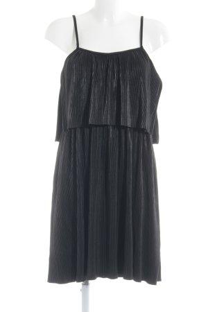 Vila Trägerkleid schwarz