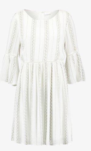 Vila Clothes Empire Dress white-natural white