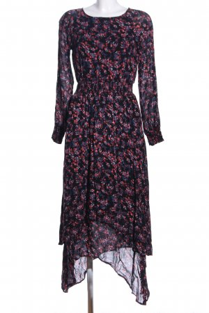 Vila High Low Dress allover print elegant