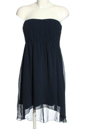 Vila Vokuhila-Kleid blau Elegant