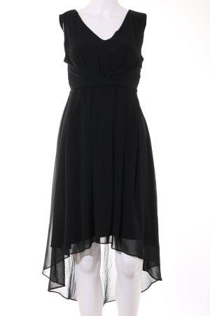 Vila Vokuhila-Kleid schwarz Elegant