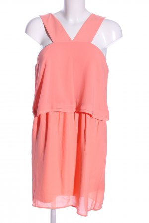 Vila Flounce Dress pink elegant