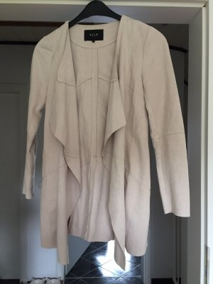 Vila Kurtka o kroju koszulki jasnobeżowy