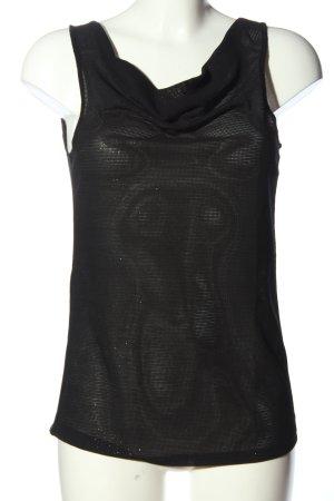 Vila Cowl-Neck Top black casual look