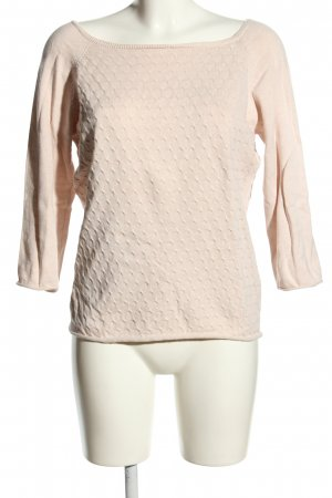 Vila Wollpullover creme Casual-Look