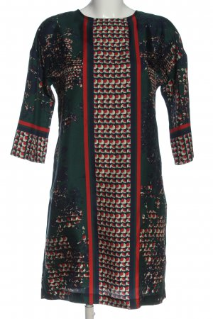 Vilagallo A-Linien Kleid abstraktes Muster Casual-Look