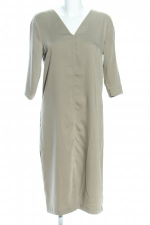 Villa A-Linien Kleid khaki Business-Look