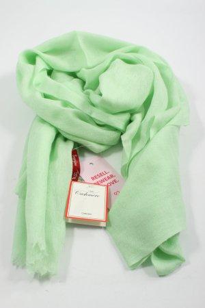 villa cashmere Écharpe en cachemire vert élégant
