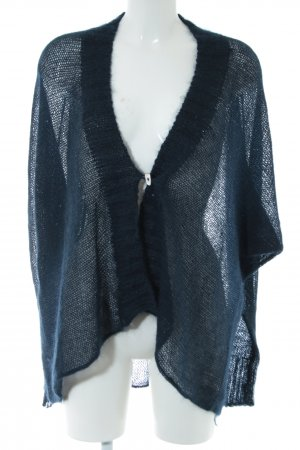 Villa Gaia Strick Cardigan blau Casual-Look