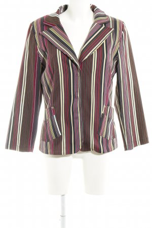 Villaggio Jerseyblazer Streifenmuster Business-Look