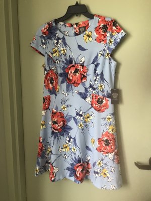 Vince Camuto Damen Sommer Blumen Kleid XL