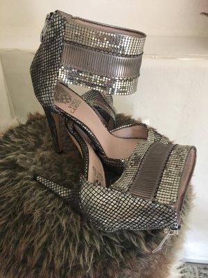 Vince Camuto High Heel Sandaletten Gr . 38 metallic