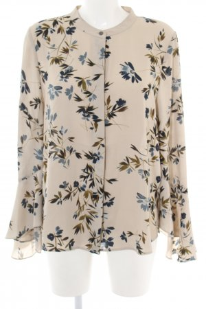Vince Camuto Langarm-Bluse Blumenmuster Business-Look
