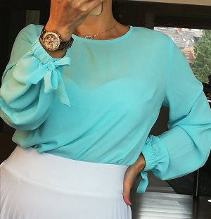 Vince Camuto langarm Bluse XS schicke Bluse 34 business Bluse sommerbluse damenbluse ausgehbluse Blusen