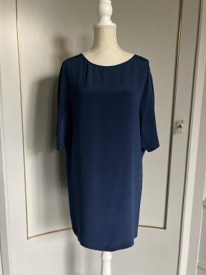 Vince Mini vestido azul oscuro