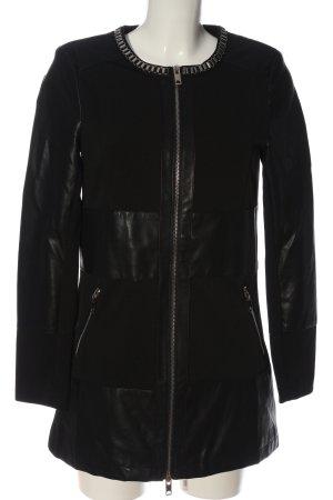 Vince Otto Długa kurtka czarny W stylu casual