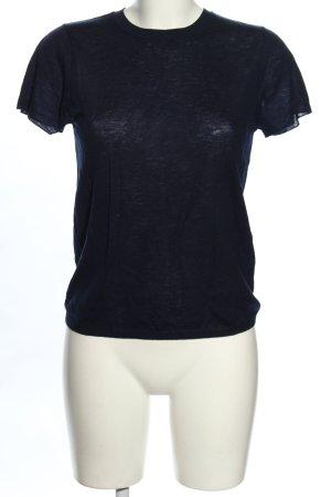 Vince Strickshirt blau Casual-Look