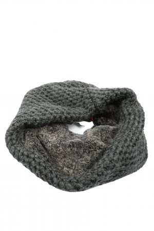 vincent pradier Tube Scarf light grey casual look