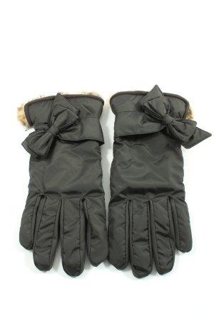 vincent pradier Thermal Gloves black casual look