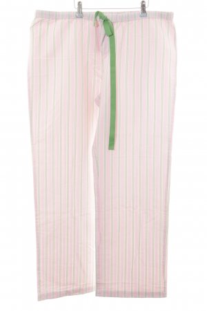 Vineyard vines Palazzo Pants pink-green striped pattern casual look
